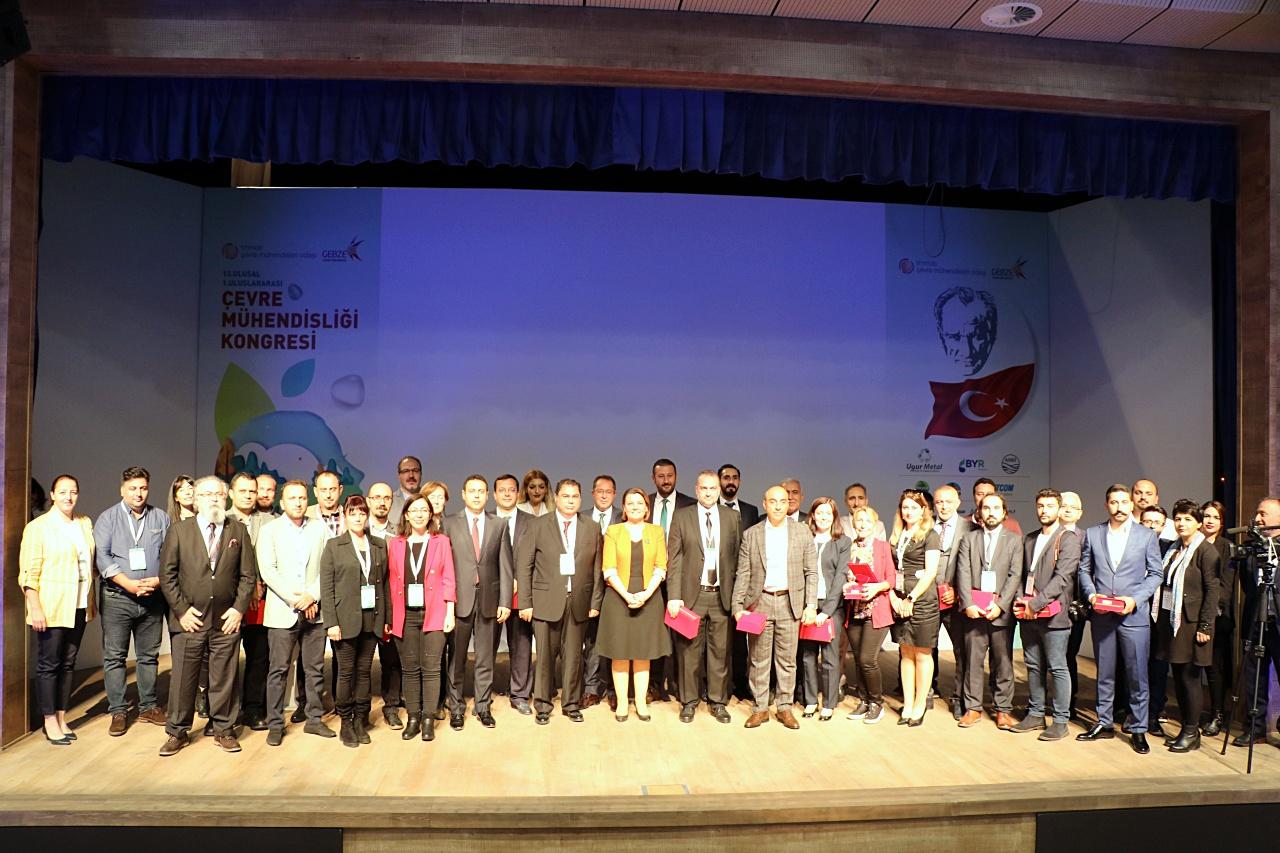 13. Ulusal & 1. Uluslararası Çevre Mühendisliği Kongresi Gebze Teknik Üniversitesi'nde Düzenlendi