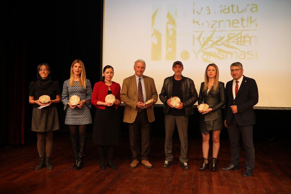 2. Iva Natura Kozmetik Kısa Film Yarışmasının Gala Gecesi Kozmetik ve Sanatın Eşsiz Uyumu İçinde Yapıldı