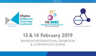 2. Orta Doğu Saf ve Özel Kimyasallar Konferansı ve Fuarı (ME-SPEC) 2019
