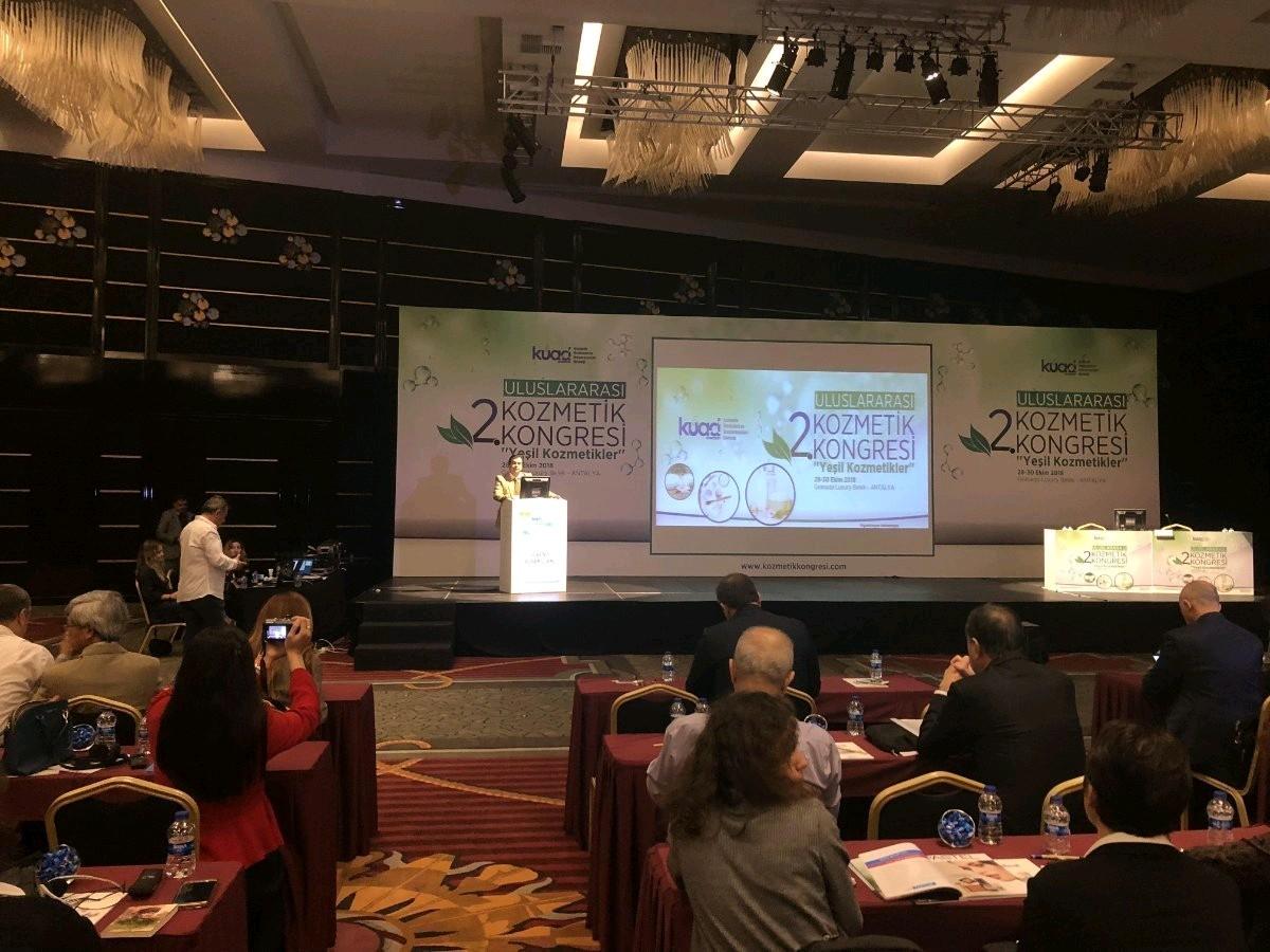 2. Uluslararası Kozmetik Kongresi Antalya'da Başladı