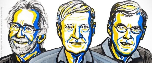 Jacques Dubochet, Joachim Frank ve Richard Henderson 2017 Nobel Kimya Ödülü'nün sahibi oldu.