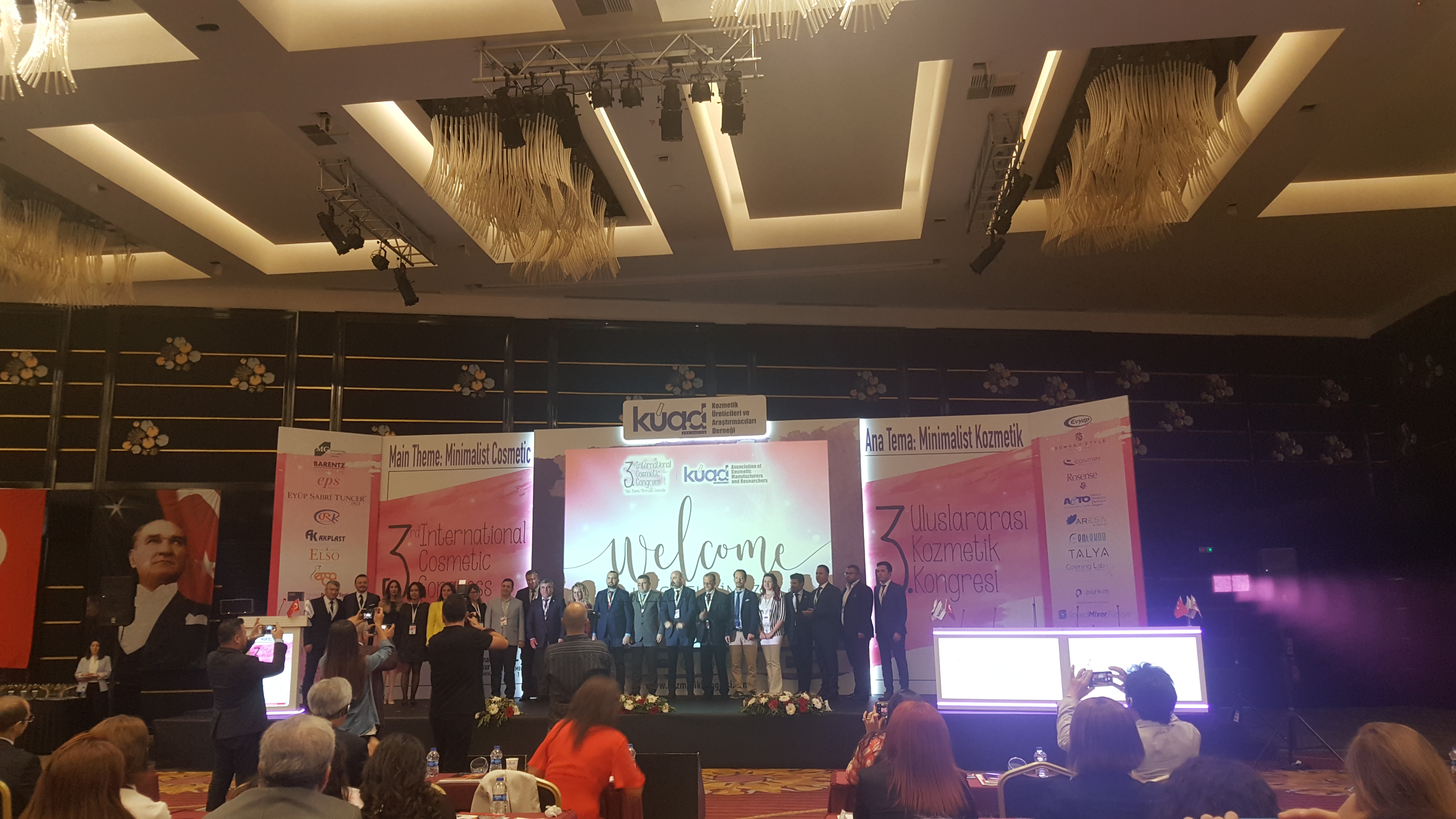 3. Uluslararası Kozmetik Kongresi Antalya'da Başladı