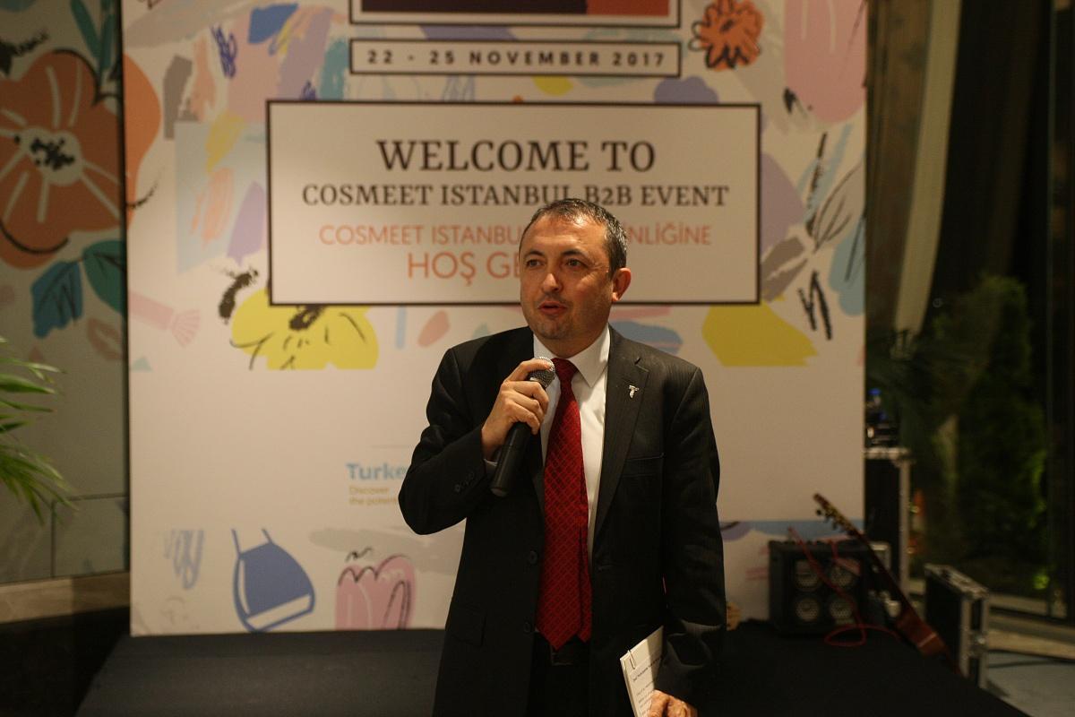 40 yabancı firma İstanbul'da kozmetik sektörüyle bir araya geldi, toplam 770 görüşme yapıldı