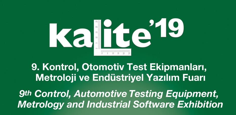 9. Kontrol, Otomotiv Test Ekipmanları, Metroloji ve Endüstriyel Yazılım Fuarı 23-26 Ekim 2019 Tarihinde Yapılacak