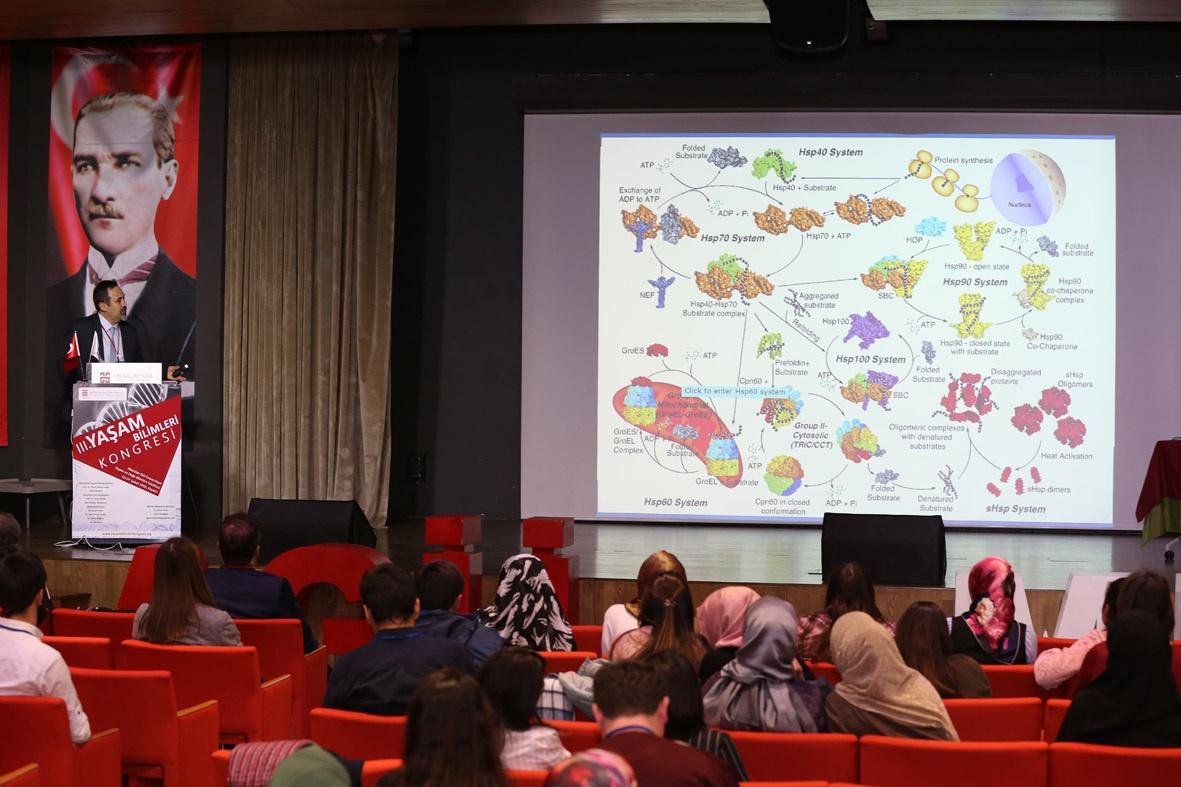 Abdullah Gül Üniversitesi (AGÜ) Ev Sahipliğinde Bu Yıl 3'cüsü Düzenlenen Yaşam Bilimleri Kongresi Sona Erdi