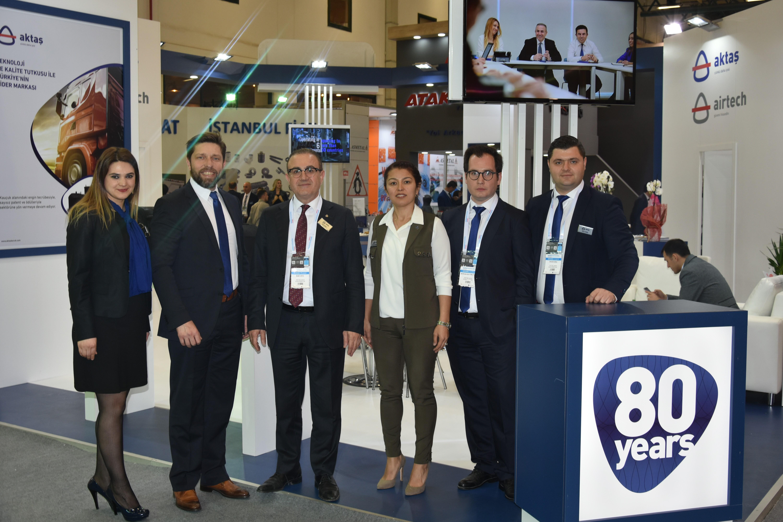 Aktaş Holding'den Automechanika İstanbul Fuarı'nda Yeni İş Bağlantıları