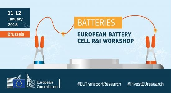 Avrupa Batarya Hücreleri Ar-Ge ve İnovasyon Çalıştayı 11-12 Ocak'ta