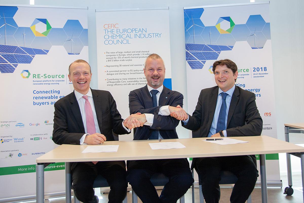 Avrupa Kimya Endüstrisi Yenilenebilir Enerji Kaynakları Arıyor