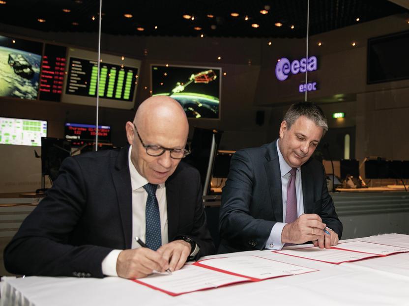 Avrupa Uzay Ajansı ve Merck İşbirliklerini Genişletiyor