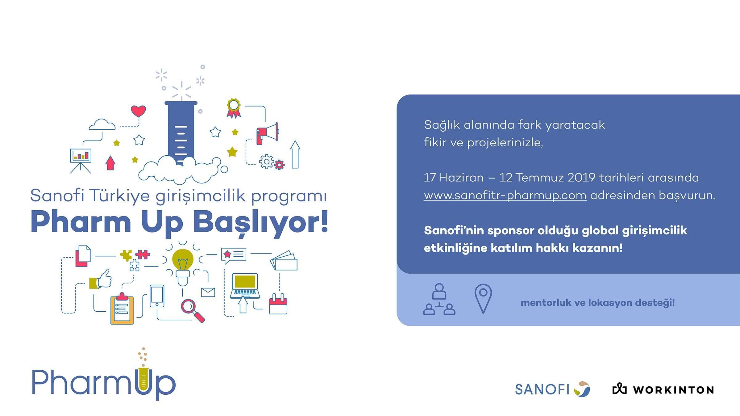 Sanofi PharmUp, Girişimcilik Programı ile Sağlık Endüstrisinde Yenilikçi Fikirleri Hayata Geçirecek