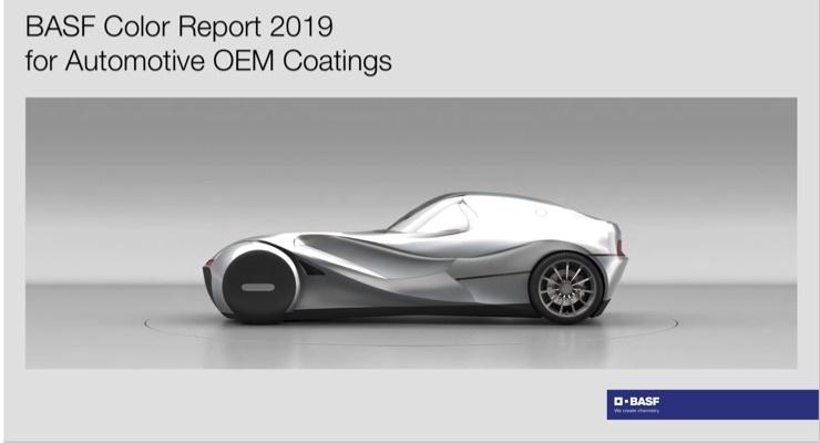 BASF'nin 2019 otomotiv renk trendlerine göre, beyaz hâlâ hâkim renk