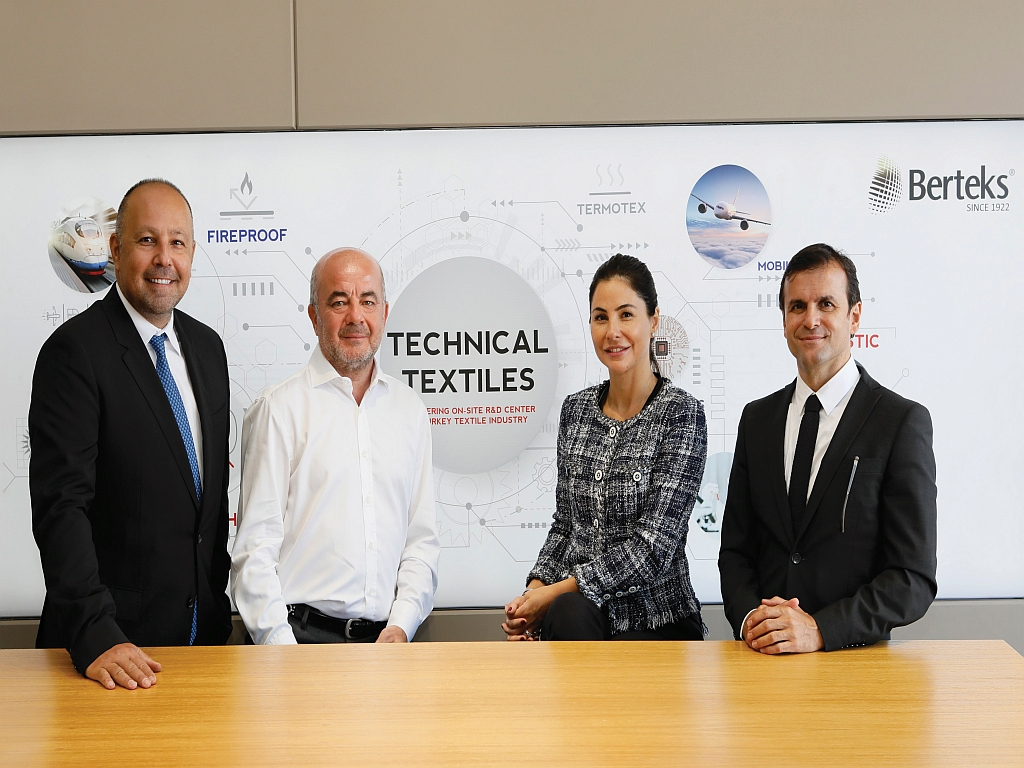 Berteks, Teknofest'te Teknik Tekstil ve Yeni Kumaş Teknolojilerini Tanıttı