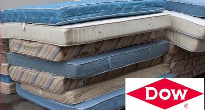 Dow, Ömrünü Tamamlamış Yatakları Poliüretan Ürünler İçin Uygun Hammaddeye Dönüştürecek