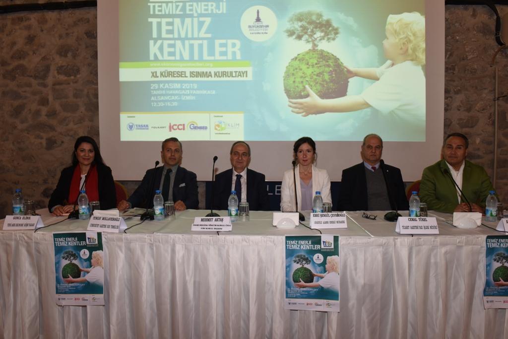Ekonomi Gazetecileri Derneği Küresel Isınma Kurultayı İzmir'de yapıldı