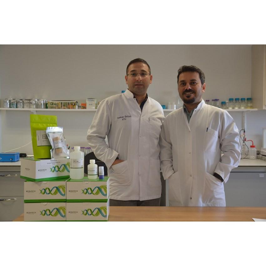 Etü'lü Akademisyenler çevre dostu laboratuvar ürünleri geliştirdi
