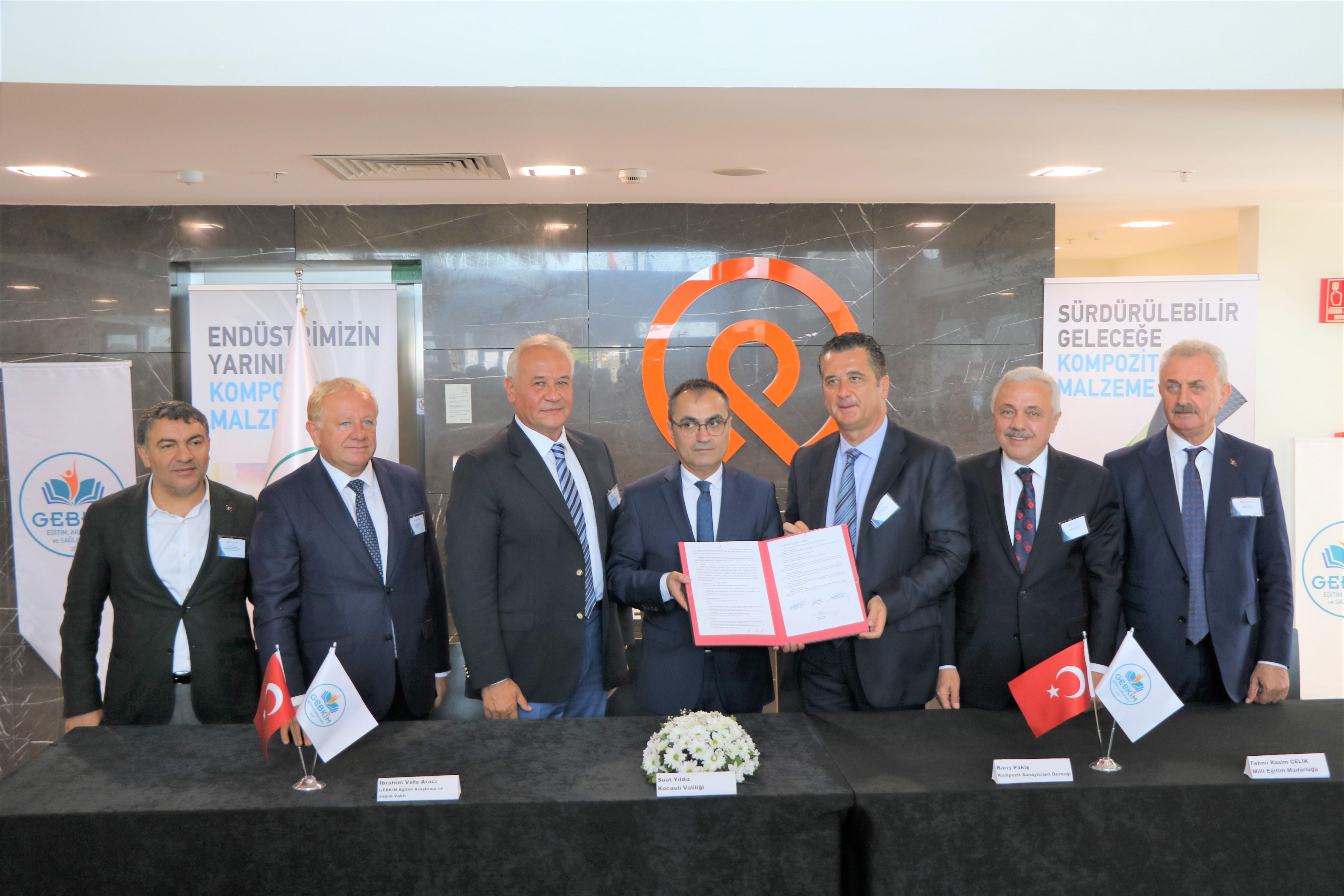 GEBKİM MTAL'de Kompozit Pilot Tesisi kurulması için imzalar atıldı