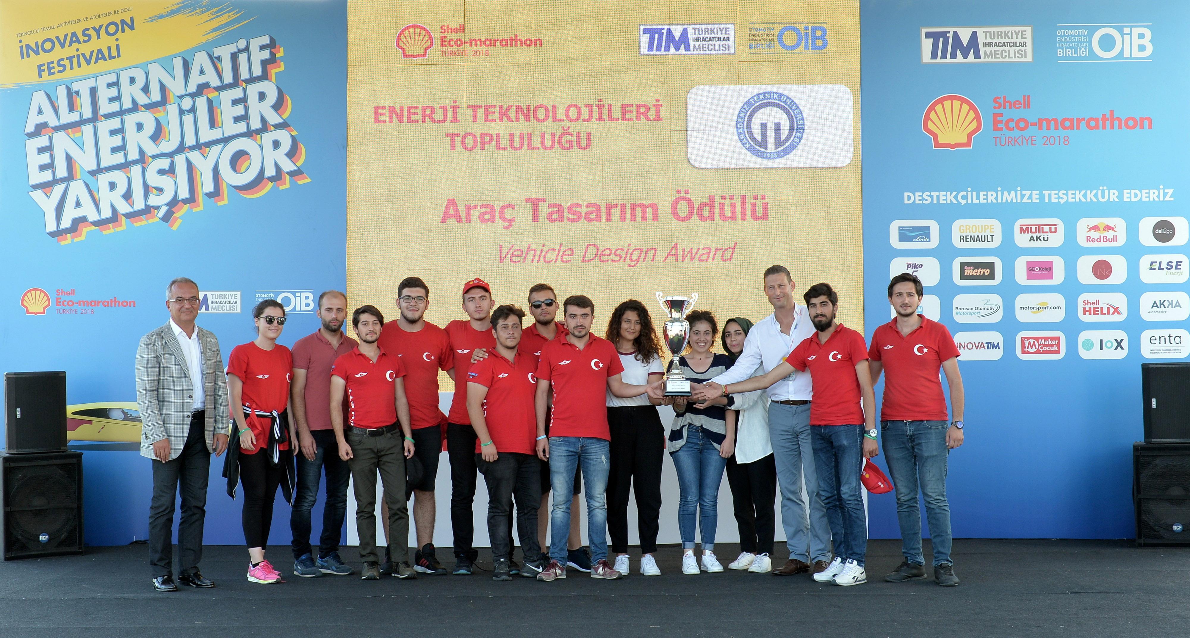 Gençlerin tasarladığı alternatif yakıtlı araçlar Shell Eco-marathon'da yarıştı