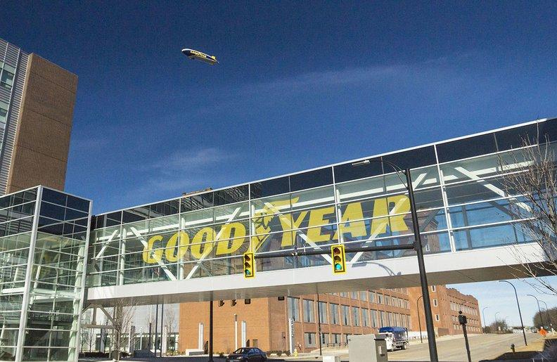 Goodyear, Lastik Araştırmalarını Uzaya Taşıyor