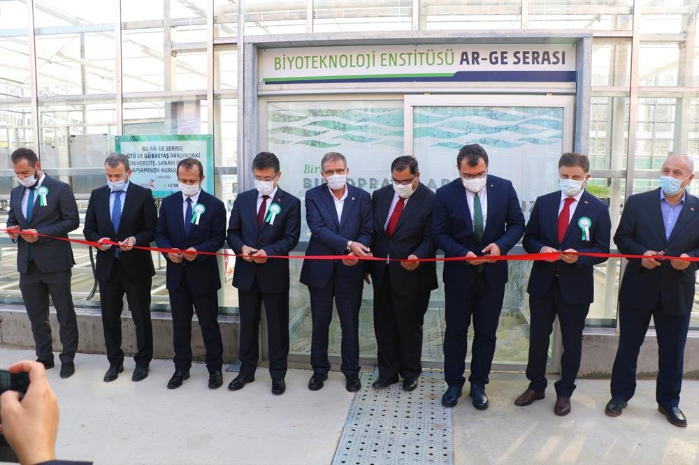 GTÜ-GÜBRETAŞ İş Birliğiyle Tarımın Geleceğine Bir Adım: Biyoteknoloji Enstitüsü Ar-Ge Serası Açıldı