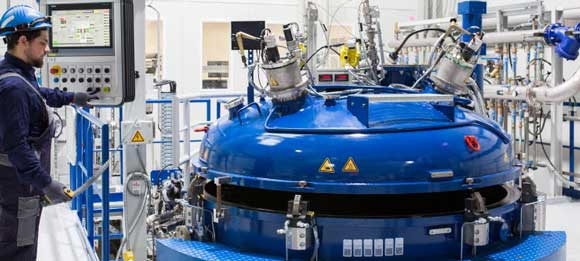 Höganäs, Laufenburg tesisinde Vakum İndüksiyon Gaz Atomizörü tesisini açtı