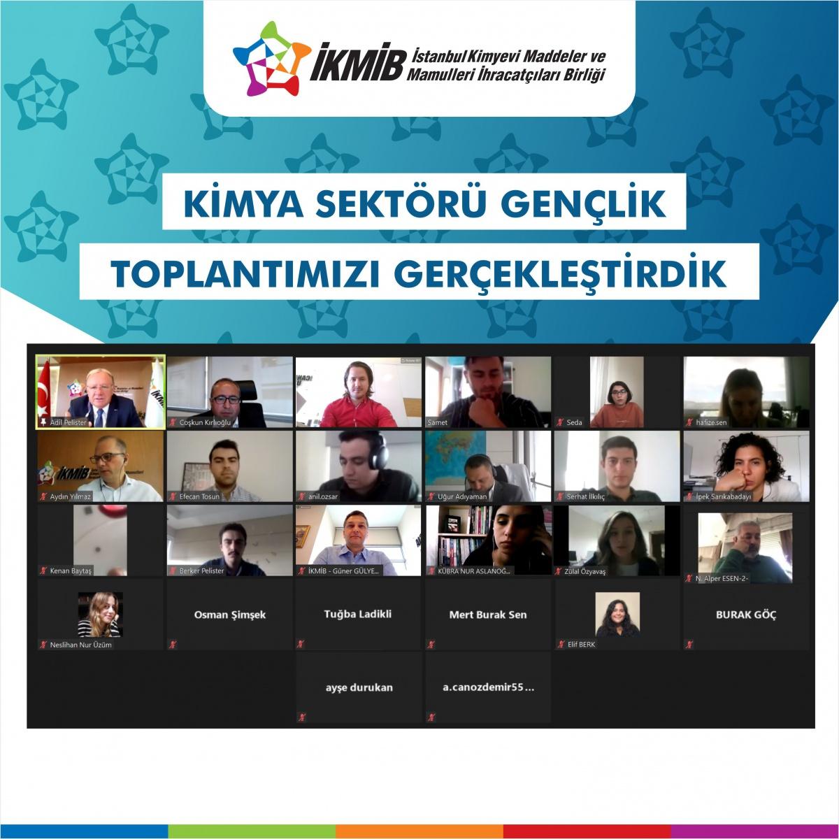İKMİB'de İlk Kez Gençlik Komitesi ve Kadın Kimya İhracatçıları Komitesi Kuruldu