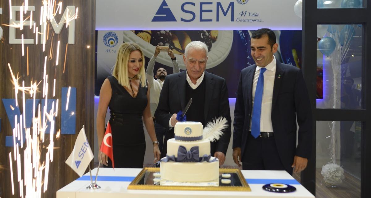 İnovatif ürünleri ve Ar-Ge projeleri ile farklılaşan SEM Plastik, 41. Yılını Kutluyor