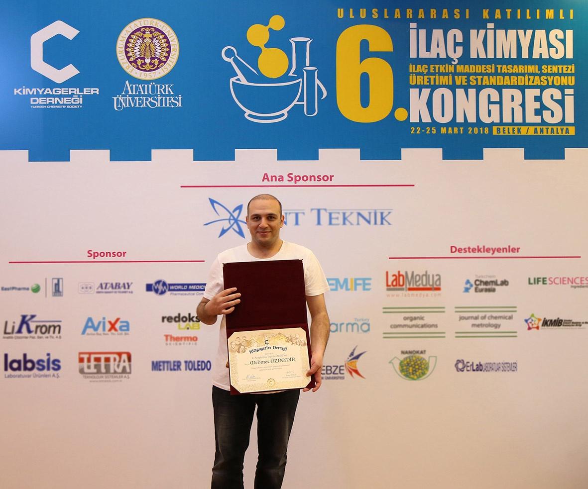 Kimyagerler Derneği  2. Araştırma Teşvik Ödülleri Sahiplerini Buldu
