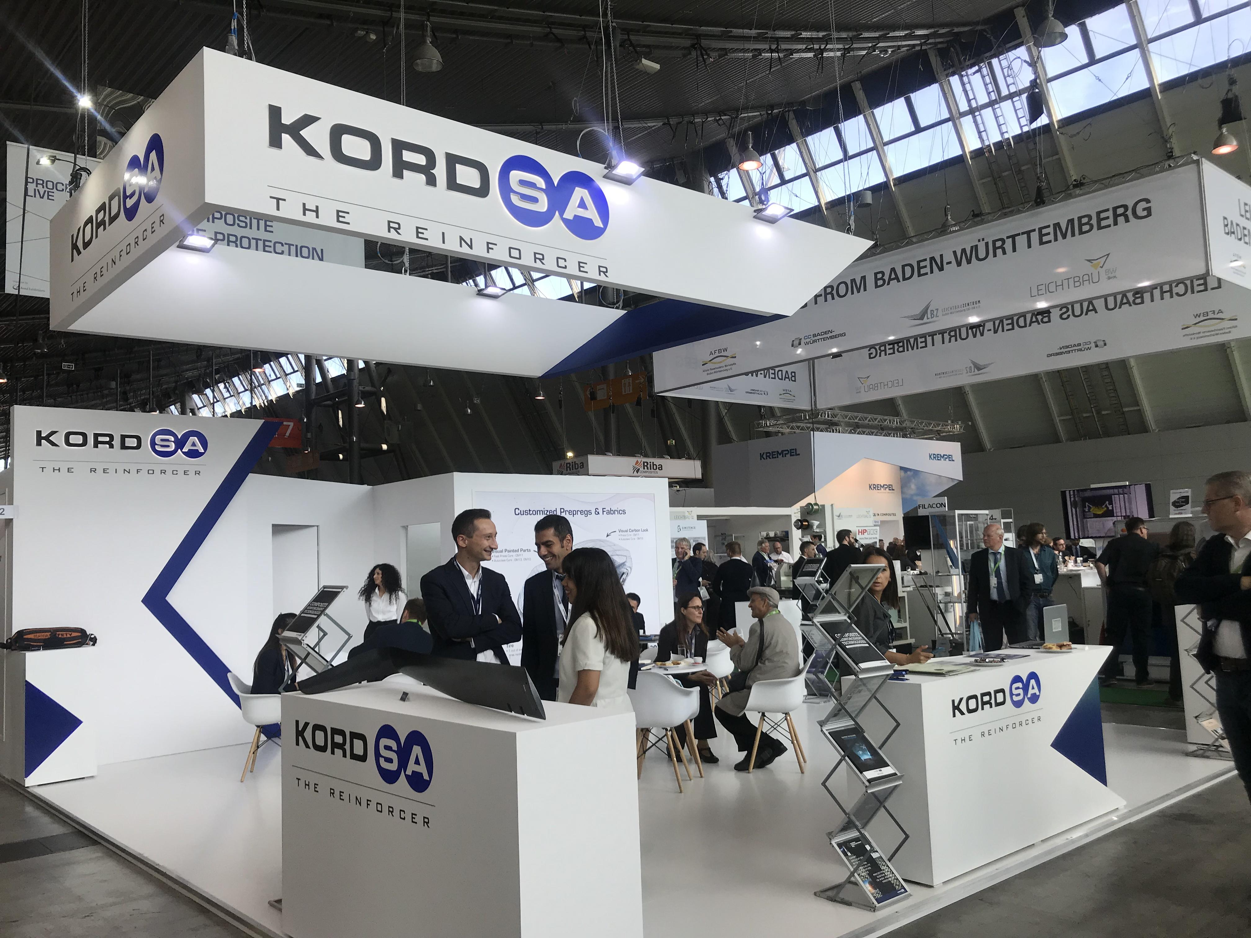 Kordsa, sektörün en önemli buluşmalarından Composites Europe'a katıldı