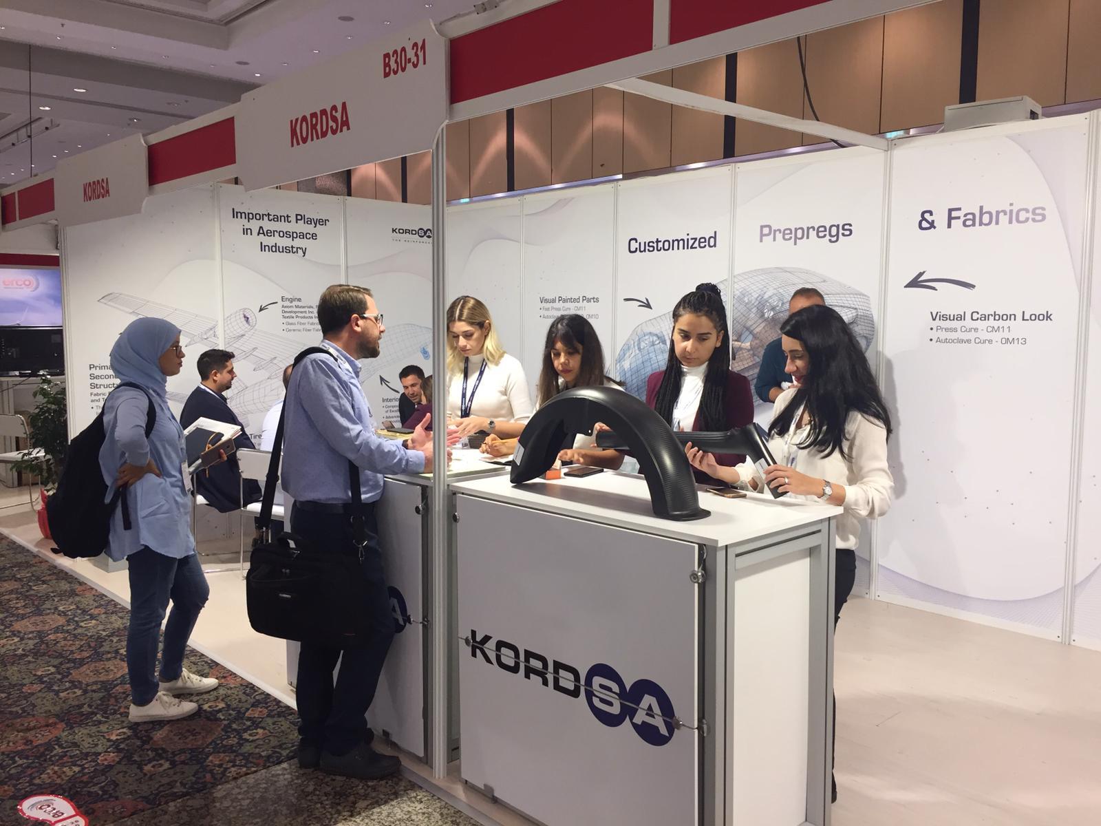 Kordsa, Türk Kompozit 2019'da yenilikçi kompozit teknolojilerini sergiledi