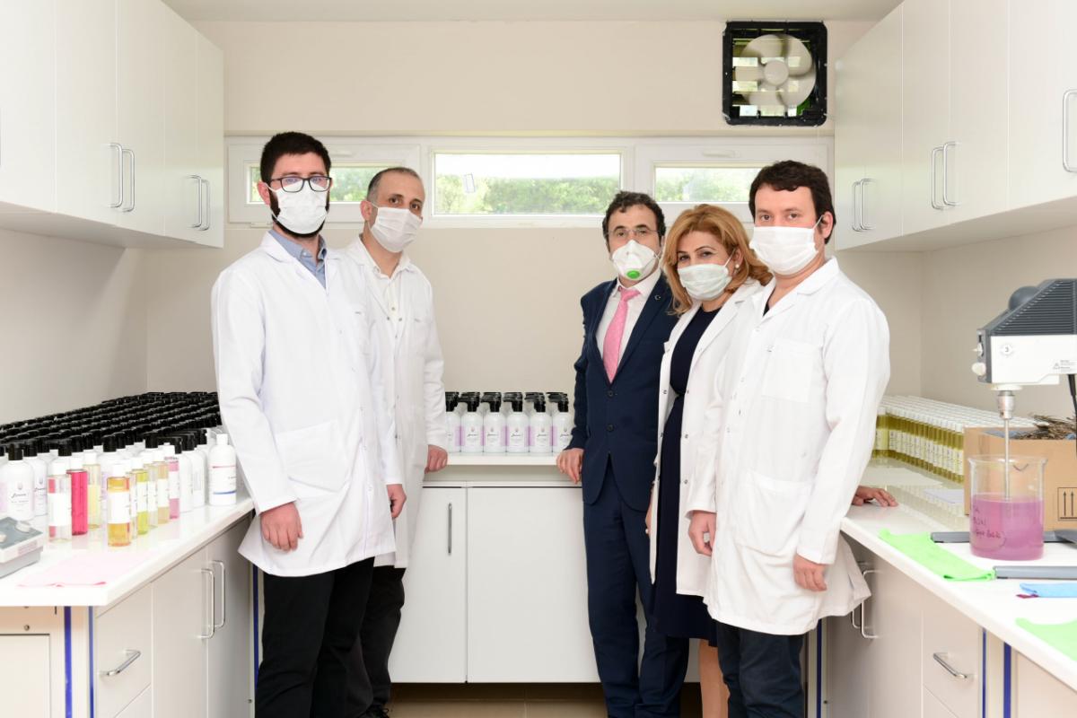 Muğla Sıtkı Koçman Üniversitesi Organik Kolonya ve Sabun Üretmeye Başladı