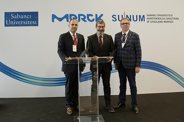 Sabancı Üniversitesi Nanoteknoloji Araştırma ve Uygulama Merkezi (SUNUM) ile Merck'ten Biyoteknolojik Ürün Geliştirmede Dev İşbirliği