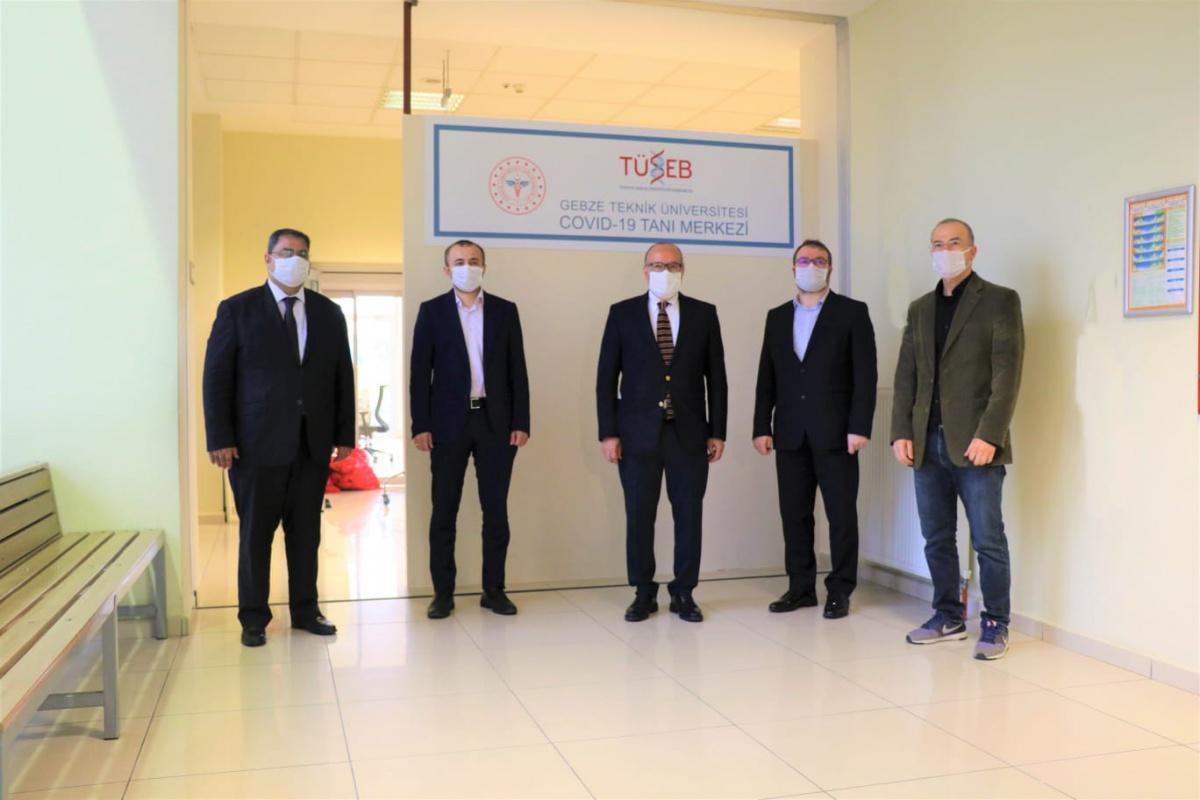 Sanayinin COVİD-19 Taraması Gebze Teknik Üniversitesi'nde Yapılacak