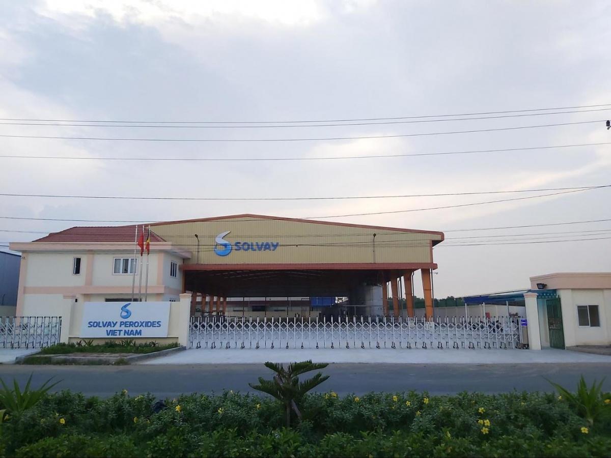 SOLVAY, Vietnam'daki Hidrojen Peroksit Tesisinde Üretime Başladı