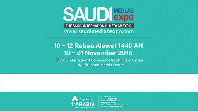 Suudi Uluslararası Med Lab Expo 2018 Fuarı