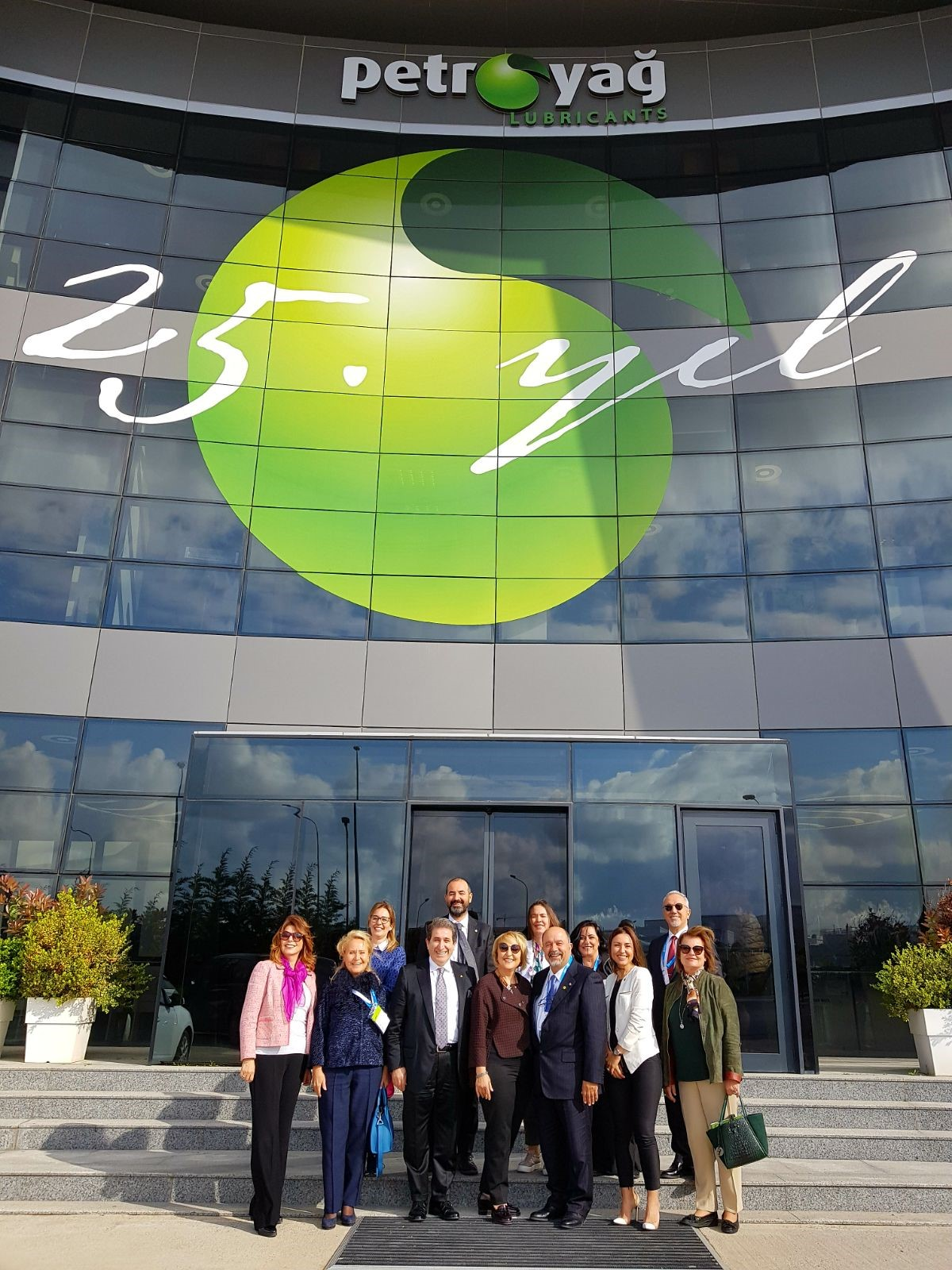 TAİDER Aile İşletmeleri Derneği Üyeleri PETROYAĞ Gebze Tesislerini Ziyaret Etti
