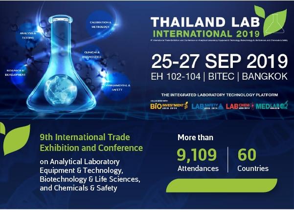 Tayland LAB INTERNATIONAL 2019, 25-27 Eylül'de Düzenlenecek