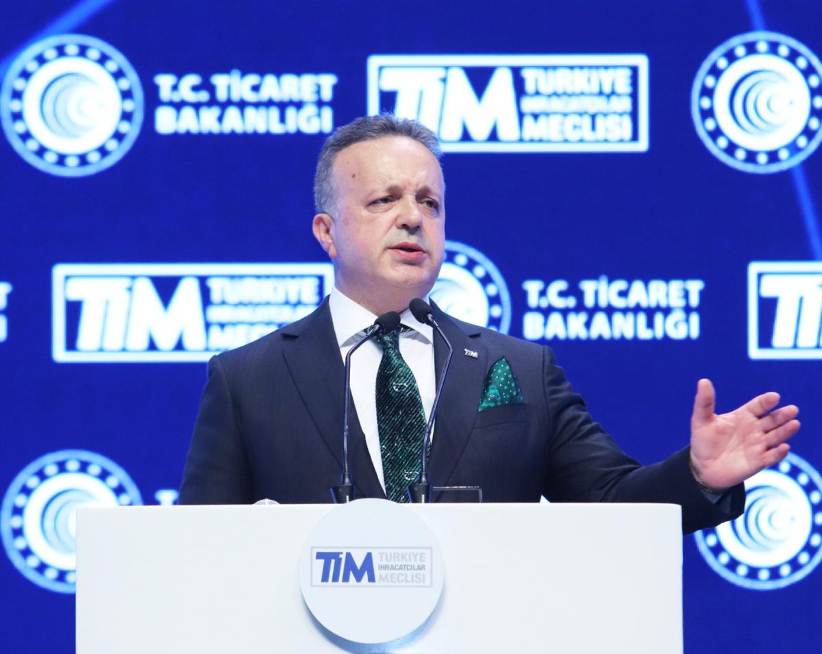 """TİM BAŞKANI İSMAİL GÜLLE: """"İHRACATTA BEKLENTİMİZ NORMALİN DE ÖTESİ"""""""