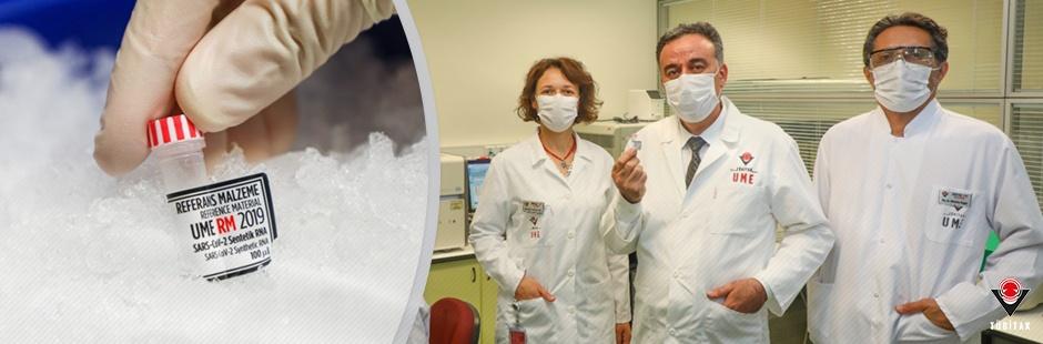 TÜBİTAK Ulusal Metroloji Enstitüsü (UME) RNA Tabanlı Referans Malzemeler Üretmeye Başladı