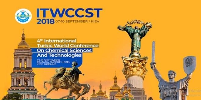 Türk Dünyası Kimya Kongresi 7-10 Eylül 2018'de Yapılacak.