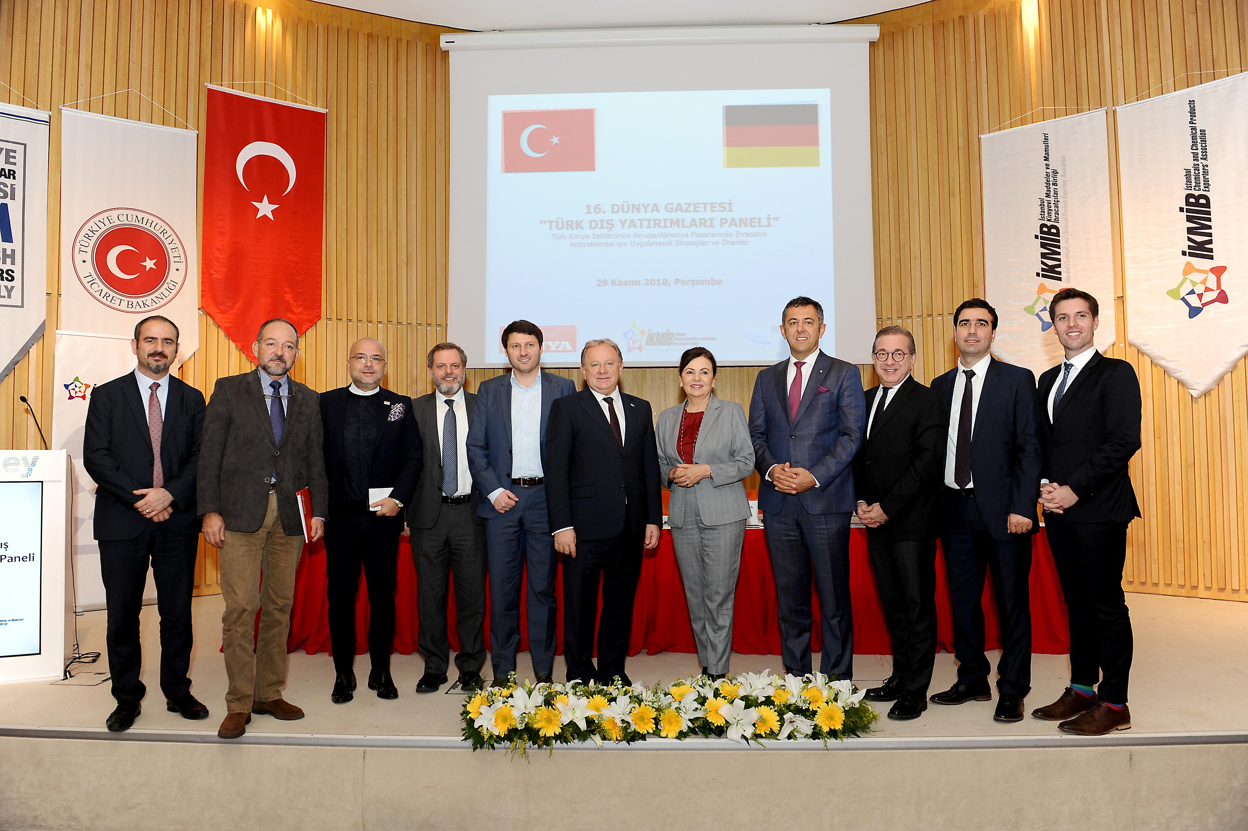 Türk kimya sektörünün Avrupa/Almanya pazarlarında ihracatını arttırabilmesi için uygulanacak stratejiler ve öneriler konuşuldu