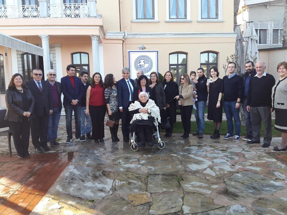 Türkiye Kimya Derneği Üyeleri, Derneği 100 Yaşına Getirenler Özel Yemeğinde Buluştu