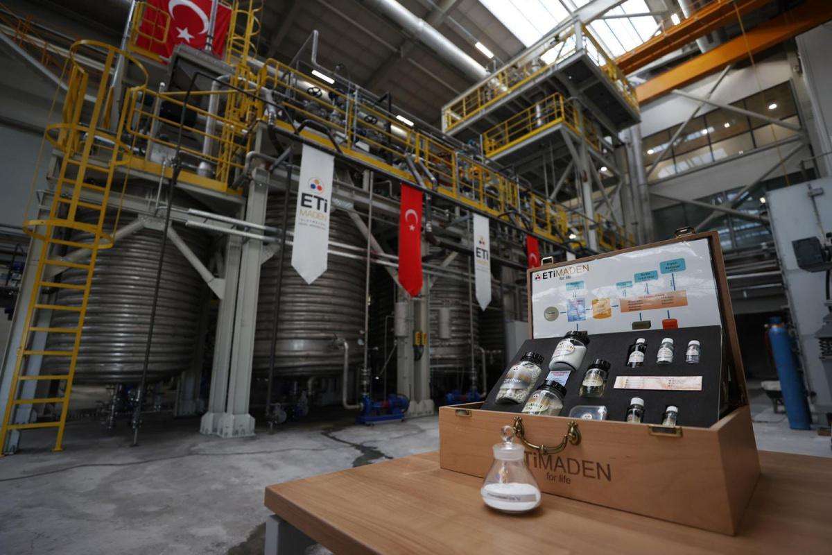 Türkiye'nin İlk Lityum Üretim Tesisinin Açılışı Yapıldı