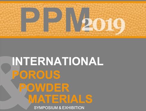 Uluslararası Gözenekli ve Toz Malzemeler Sempozyumu ve Sergisi, PPM 2019, 09-11 Ekim 2019'da Marmaris'te Yapılacak