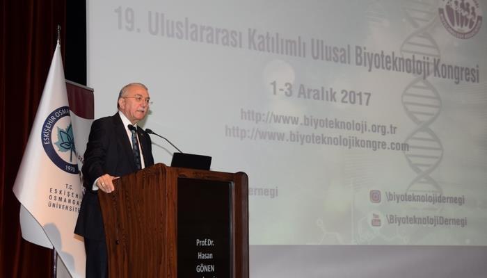 Uluslararası Katılımlı 19. Ulusal Biyoteknoloji Kongresi Eskişehir Osmangazi Üniversitesinde Başladı