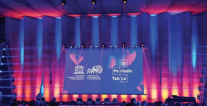 Uluslararası Periyodik Tablo Yılı Paris'te Resmen Başladı.