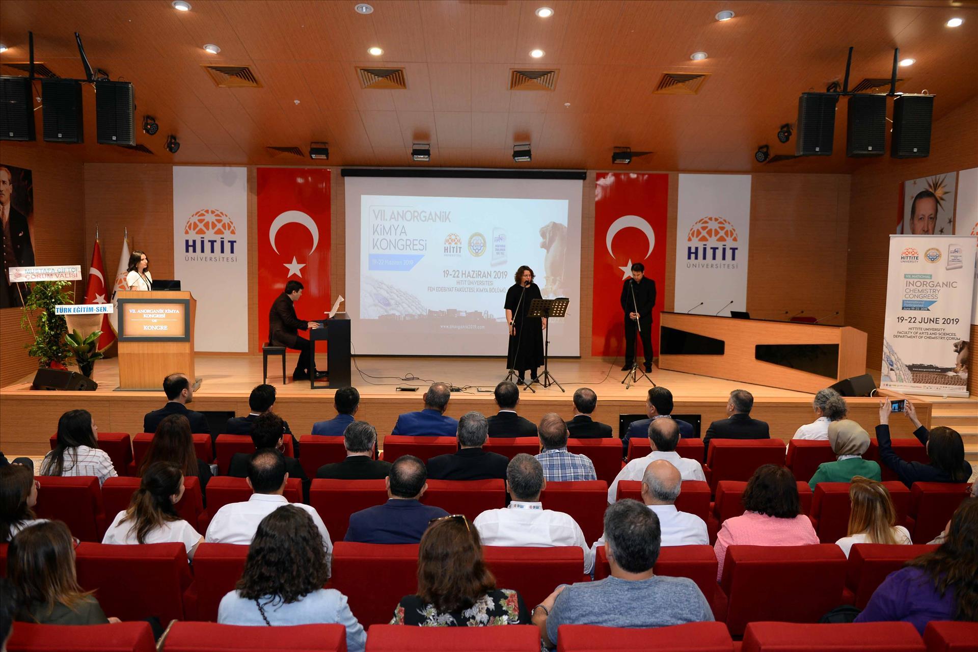 VII. Anorganik Kimya Kongresi Hitit Üniversitesi'nde Gerçekleşti