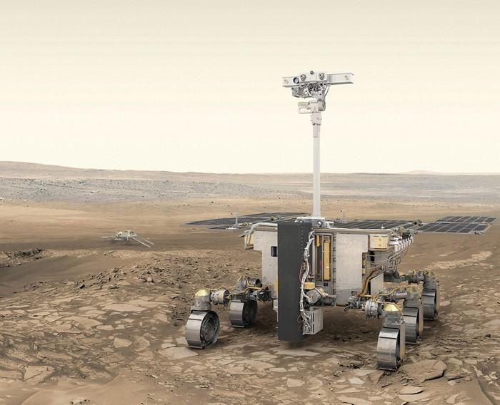 """Yeni Mars Misyonu Keşif Aracı """"Rosalind Franklin"""""""