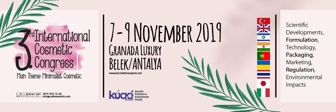 3.Uluslararası Kozmetik Kongresi