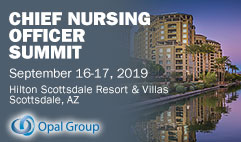 chief nursing officer summit 2019