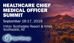 Healthcare chief medical officer summit 2019